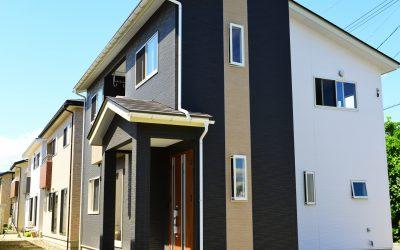 窯業系サイディングの住宅