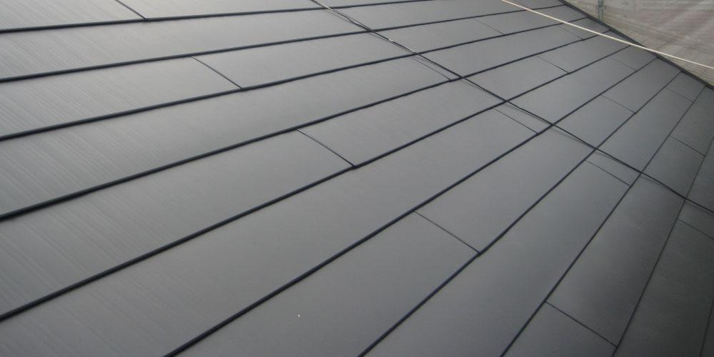 金属屋根の画像