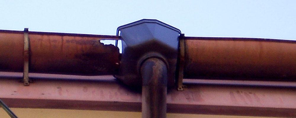 雨樋の破損
