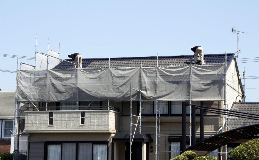 屋根修理の画像